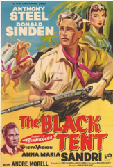 The Black Tent 1956 DVD - Donald Sinden / Anthony Steel